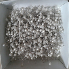 pearl head straight pin for garment packaging