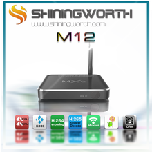 Hot tv box M12N Amlogic S912 2G 8G Android 6.0 KODI 16.0 .1 Google TV Box
