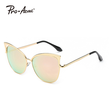 Fashion Classic Cat Eye Sunglasses Women Brand Designer Vintage Coating Sun Glasses Female Oculos de grau Femininos UV400 PA0169