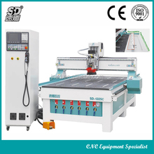4x8 ft cnc router 3d Cnc Router with auto tools changer SD1325C automatic 3d wood carving cnc router