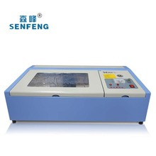 Rubber stamp laser machine cheap price small engraver 40w laser cut machine malaysia