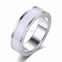 3WL-009 Men's Jewelry Finger Ring Design Men Stainless Steel Ring Blanks