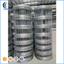 High tensile strength tight lock galvanized hog fence / pig fencing wire