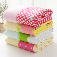 New Product for 2016 China Wholesale Cellular Blanket Baby Cotton Cellular Cot Blanket On Line