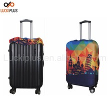Luckiplus Spandex & Polyester Luggage Cover Durable Suitcase Cover