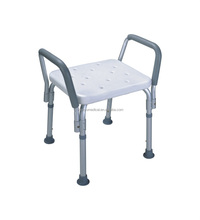 lightweight tool free bath chair for disabled