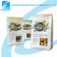 2014 Stand up printed butter&cheese side gusset bag packaging
