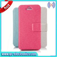 New Arrival Luxury Silk Leather Case for ipad mini