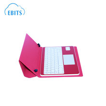 Hot procduct 9.7 inch wireless tablet pc keyboard with leather case