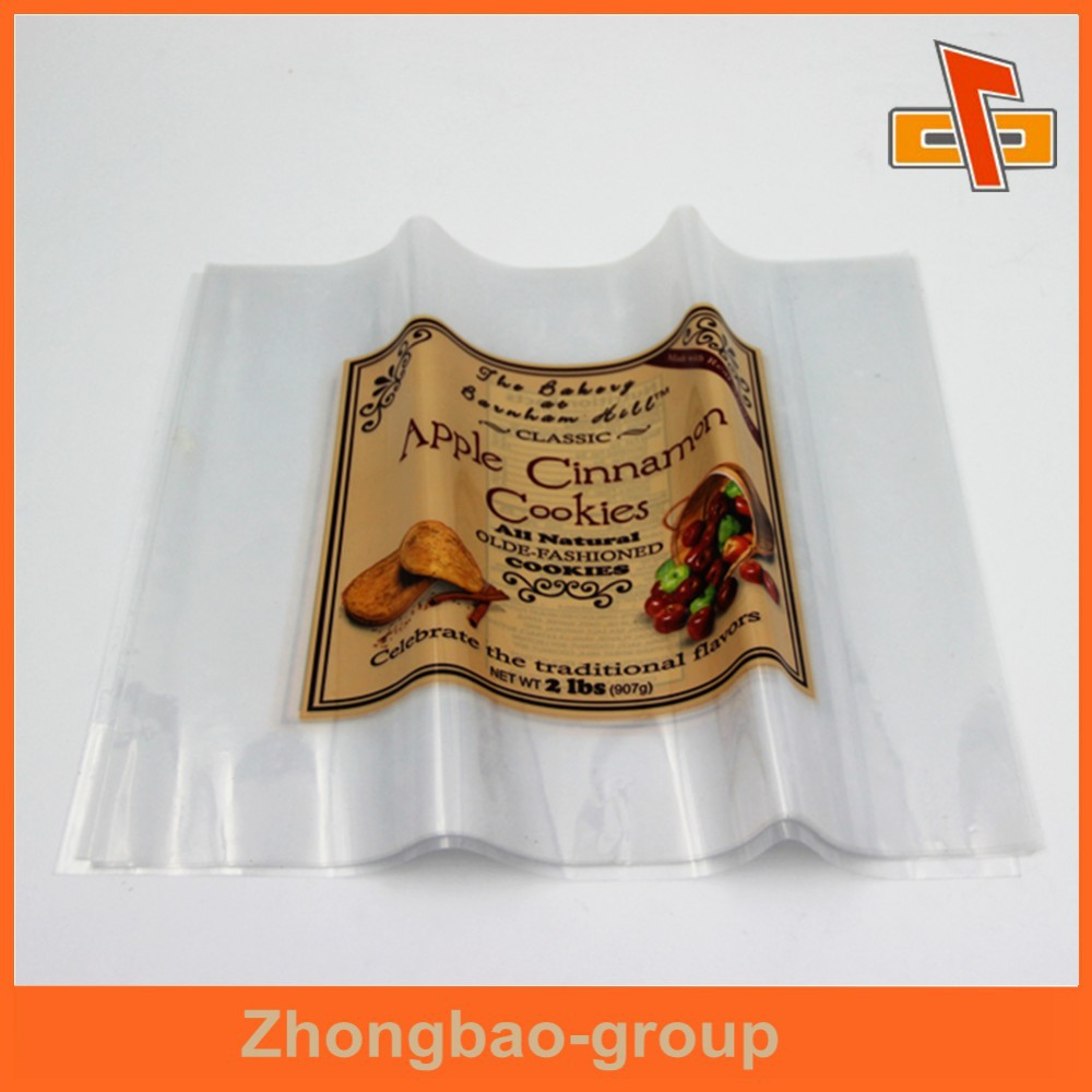 Customizable eat sensitive water proof printable transparent clear heat polyolefin shrink film