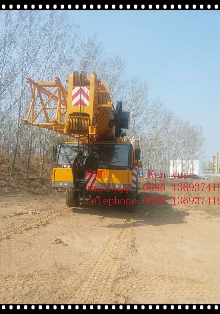 used Liebherr LTM 220T 2012Y truck crane for sale with high quality,liebherr 500t crane