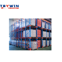 High Quality Guangdong Warehouse Storage Rack Heavy Duty Orange Shelving Racking System Metal Equipment