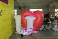Customized inflatable LOVE letters for Valentine's day decoration C-277