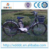 26 inch e cycle electric bike with mid motor and lithium battery
