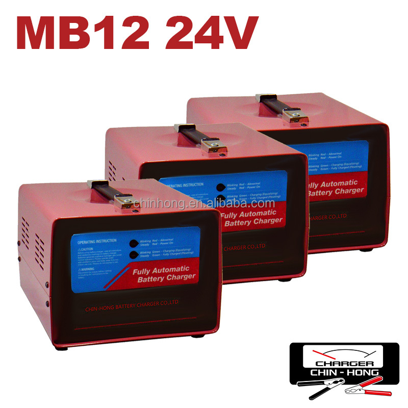 12V/24V 15A Automatic Battery Charger For Car Generator UPS Battery