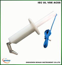 iec standard test probe finger ip2x tool for household appliance protection testing