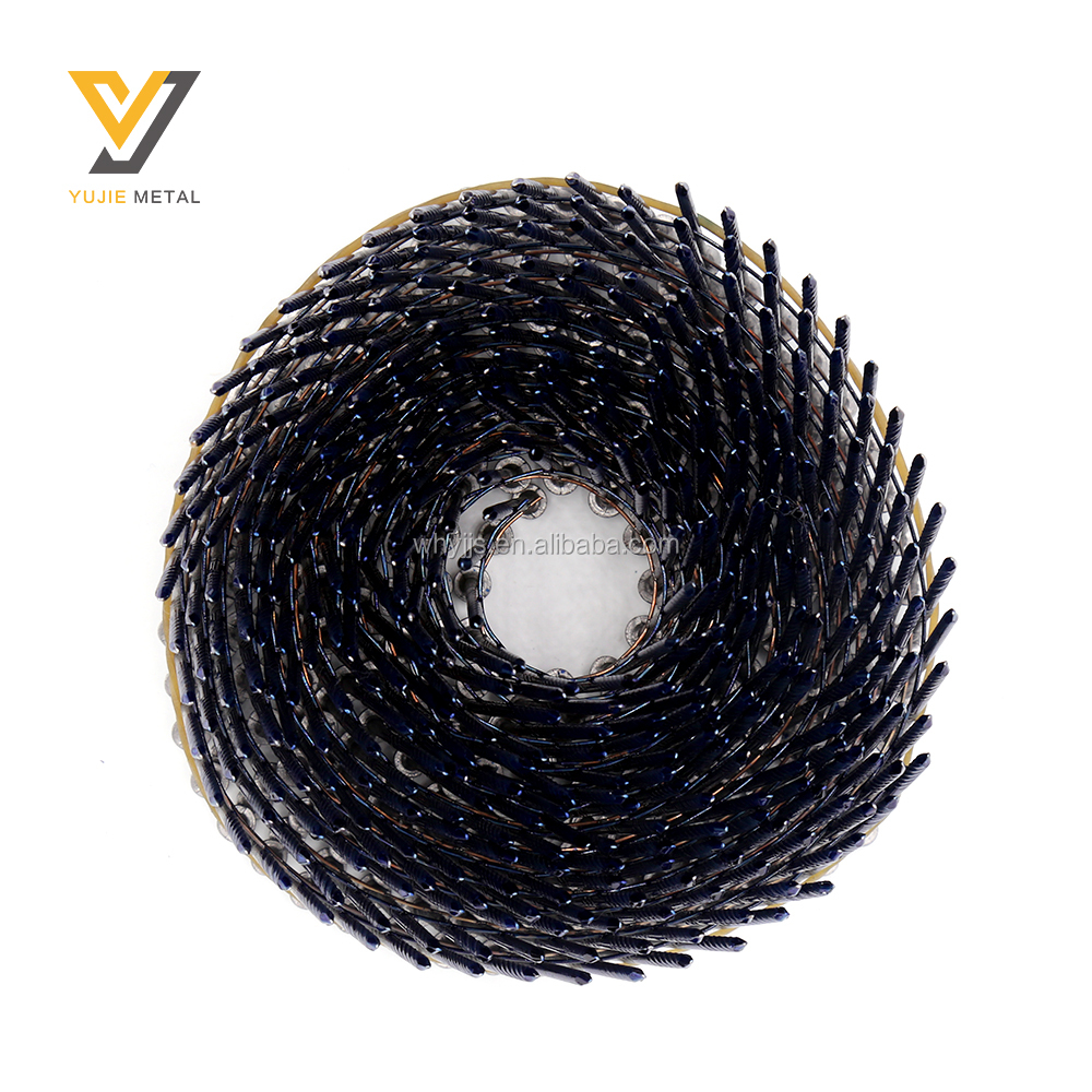 2 1/2 Inch Factory Collated Steel Type Wire Welded Coil Nail