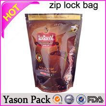 Yason ziplock medicine bag scooby second generation ziplock foil bags 4g 10g zipper gusseted poly bag