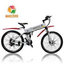 Factory price cheap 26 inch foldable electric mountain bike pedelec bike with lithium battery