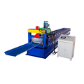 Automatic Roof Panel Roll Forming Machine For Join-Hidden 470