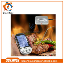 Supply remote wireless meat cooking thermometer