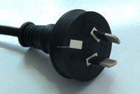 australia 2 pin power cord with SAA approval
