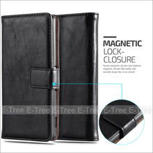 Luxury Wallet Card Slot Magnet PU Leather Flip Case For Sony Xperia Z3 Cover