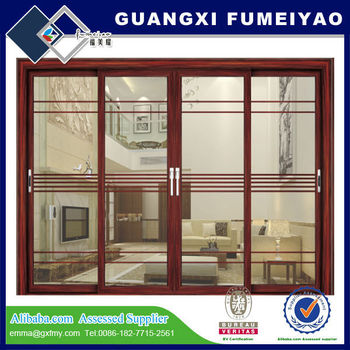 Aluminum patio sliding door 2014 new products from china manufacturer