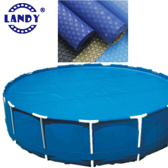 Above ground Intex solar swimming pool cover 18 ft/ 22 ft/24 ft round shape  images, View intex swimming pool covers images, LANDY Product Details from  ...