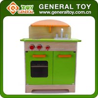 Children Kitchen Cooking Set Toy Wooden Kitchen Toy