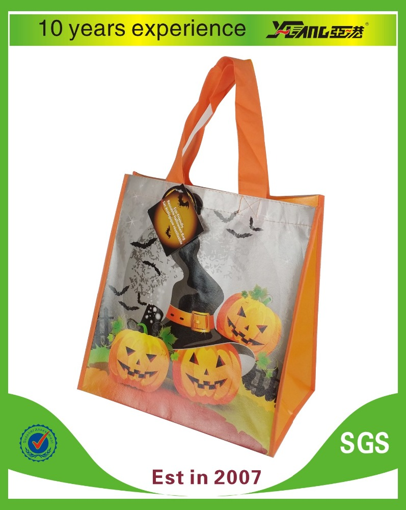 full colour printing aminating pp non woven shopping tote bag