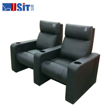 USIT UV837AR commercial theater Furniture Type electric Swivel Rocker Recliner Sofa Chairs with push back