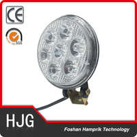 led driving light 4x4 led work light 12w round led offroad head light