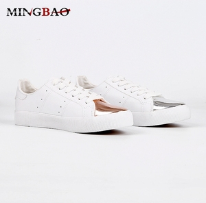 Casual PU Flat Fashion women's walking shoes