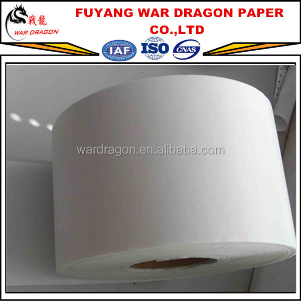 Double side coating wood pulp material Gloss Art paper/couche paper