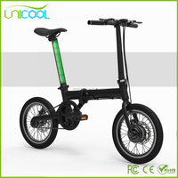 6061 Aluminium Alloy Cheap Small Folding Electric Bike,Cheap Electric Bicycle with EN15194 (B6)