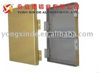 PVDF aluminum curtain wall profile