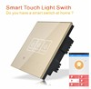 Touch Panel Zigbee Wireless Smart Home Automation Light Switch
