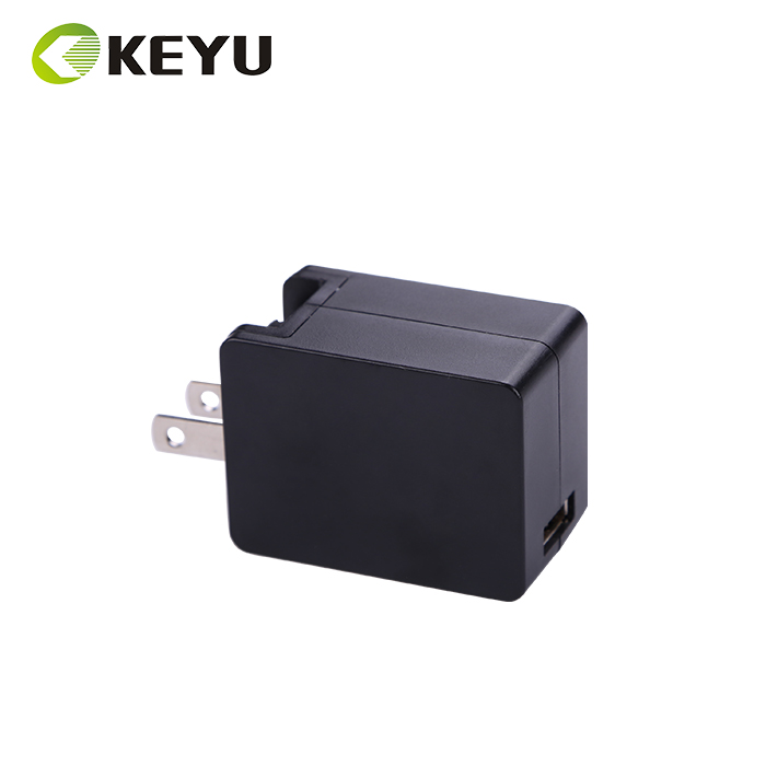 interchangeable plug ac dc power adapter 5v 2a tablet pc charger with ce gs ul fcc rohs erp5 approval, 5v folding plug charger