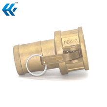 Hot Sale Quality Quick Flexible Brass Camlock Hose Coupling Pipe Fitting Type C for Connecting Pipe