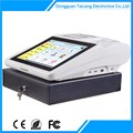 "3 Function Keys Buttons 12"" Touch Pos Terminal"