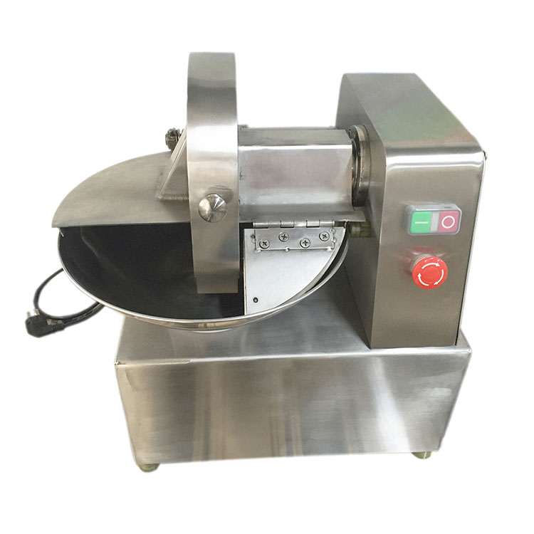 Specialist manufacturers Save energy 0.55kw vegetable fruit chopper machine meat bowl cutter portable cutting