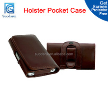 Belt Loop PU Leather Pouch Case Cover Holster Pocket for Nokia Lumia 625 Mix color