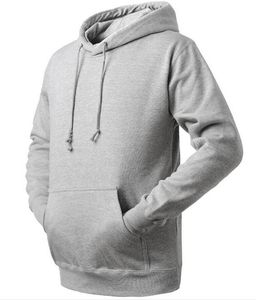 OEM 100% cotton 280g plain custom hoodie men wholesale blank pullover hoodies