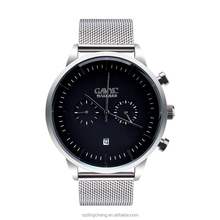 Stainless steel strap 3 atm water resistant stainless steel business watch