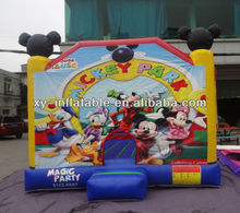 kids mickey minnie mouse bouncy castle/Inflatable minnie mouse bouncy castle