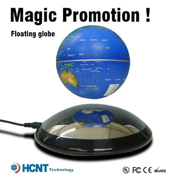 Magical magnetic educational world globe