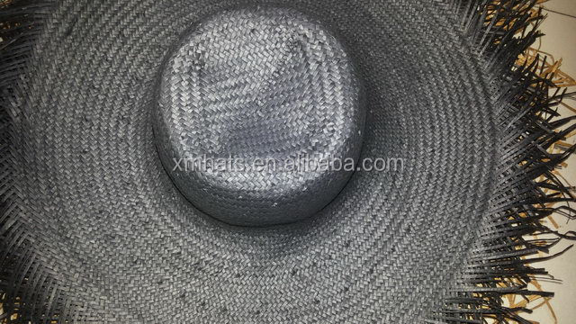 New coming best quality wave body fedora paper straw hats