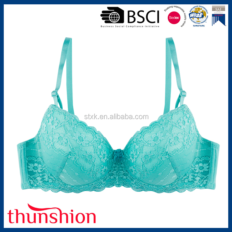 Fashion comfortable ladies new model bra with plus size design