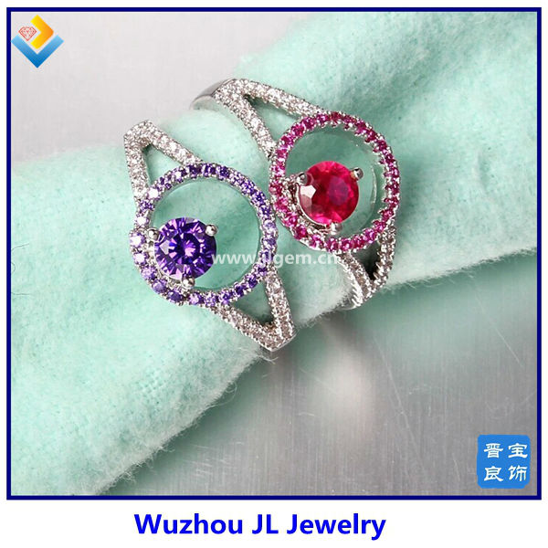 Gemstone Manufacturer ! China Wholesale 925 sterling silver gemstone ring jewelry